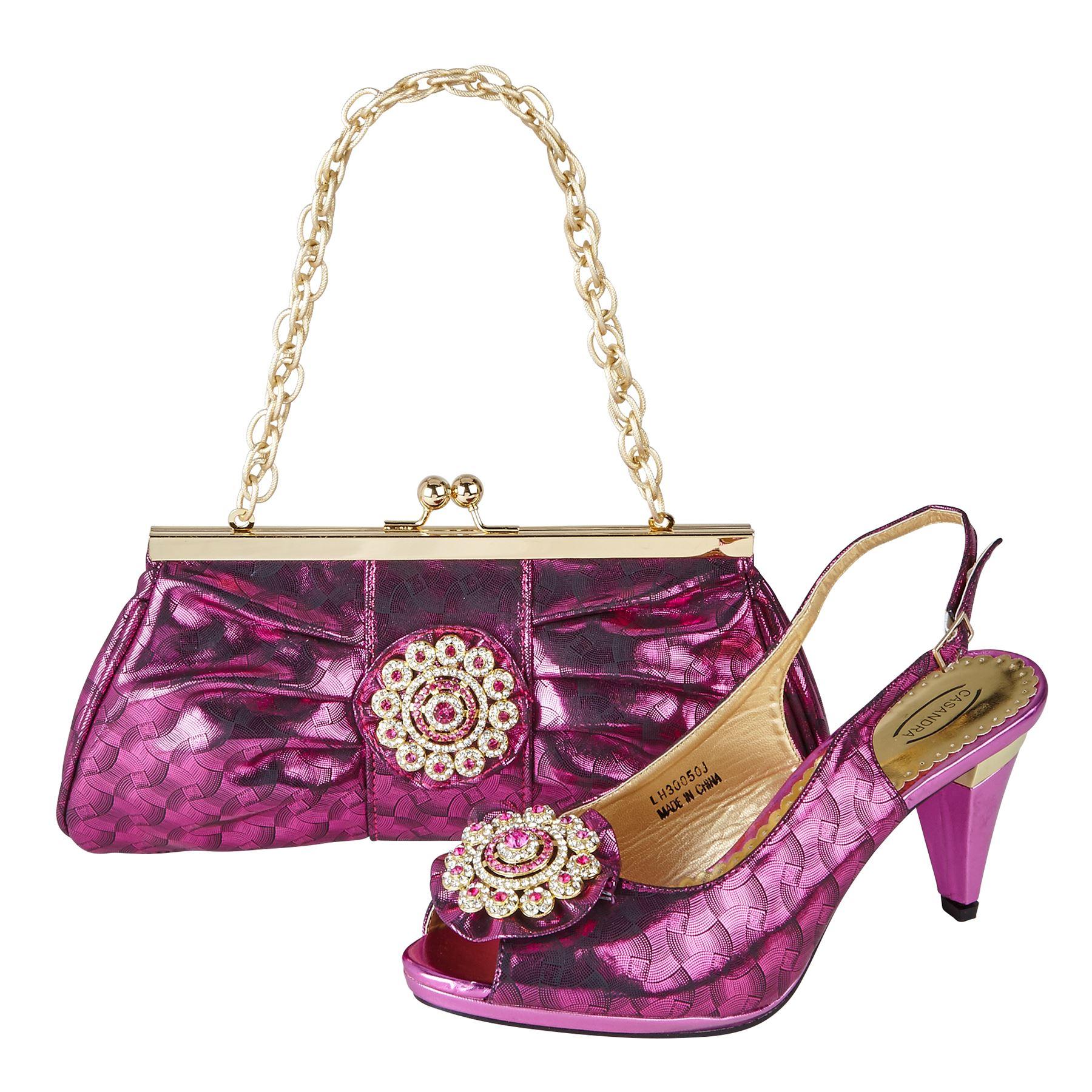 Wonderful LARA39s Summer New Women39s Sandal Shoes With Matching Handbags White