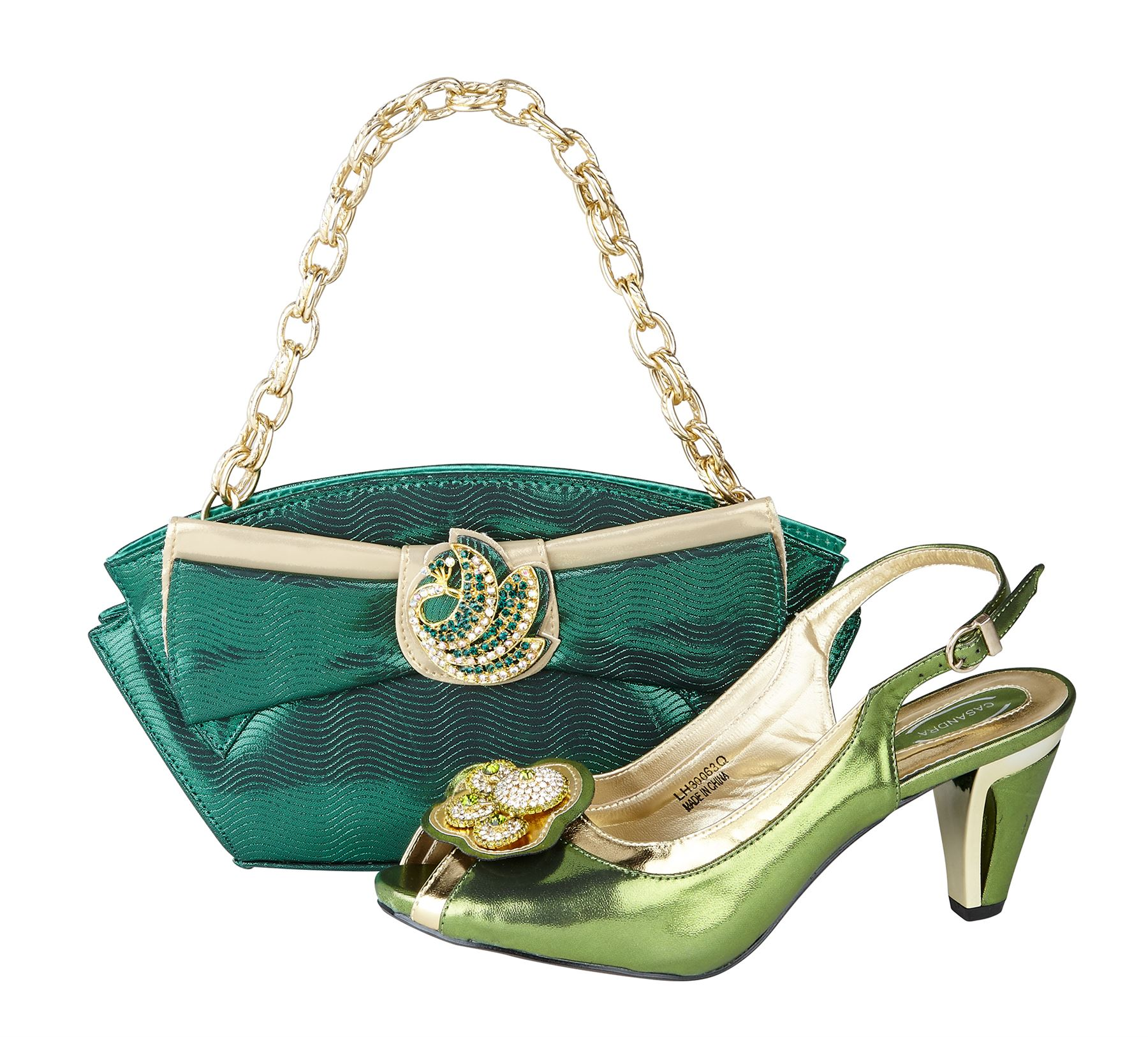 Excellent Fashion Shoes Matching Handbagsgood PU Leather With Shoes And Bag