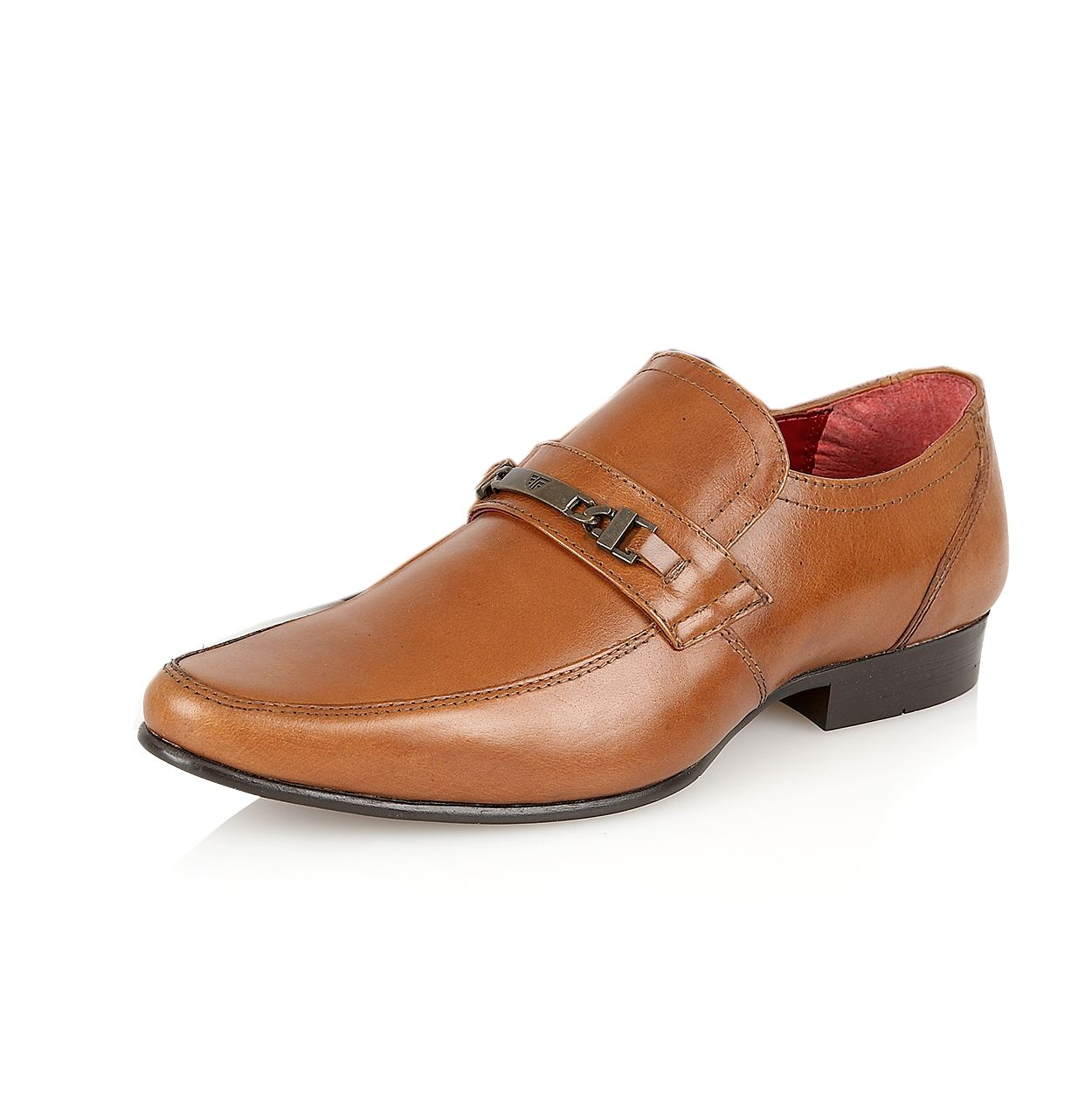 mens italian leather formal office casual