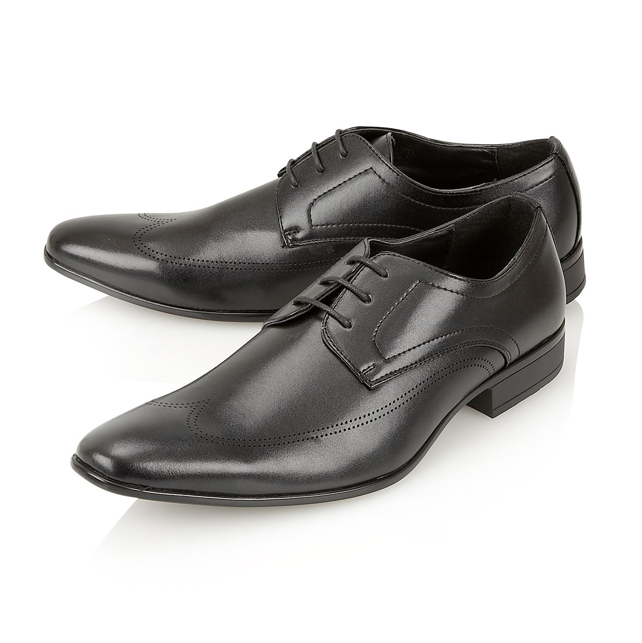 monti albani mens formal lace up office wedding shoes