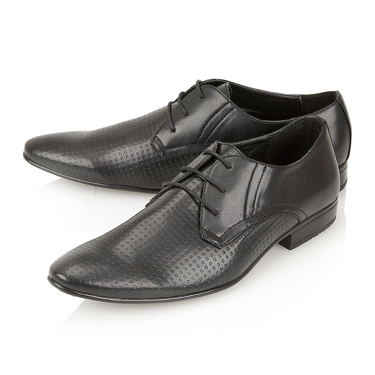 Monti Albani - Chaussures À Lacets Noir Pour Les Hommes Noirs DKvwgv8nPi