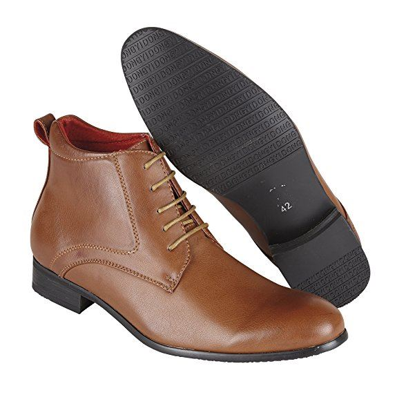 mens leather lined designer italian style ankle boots