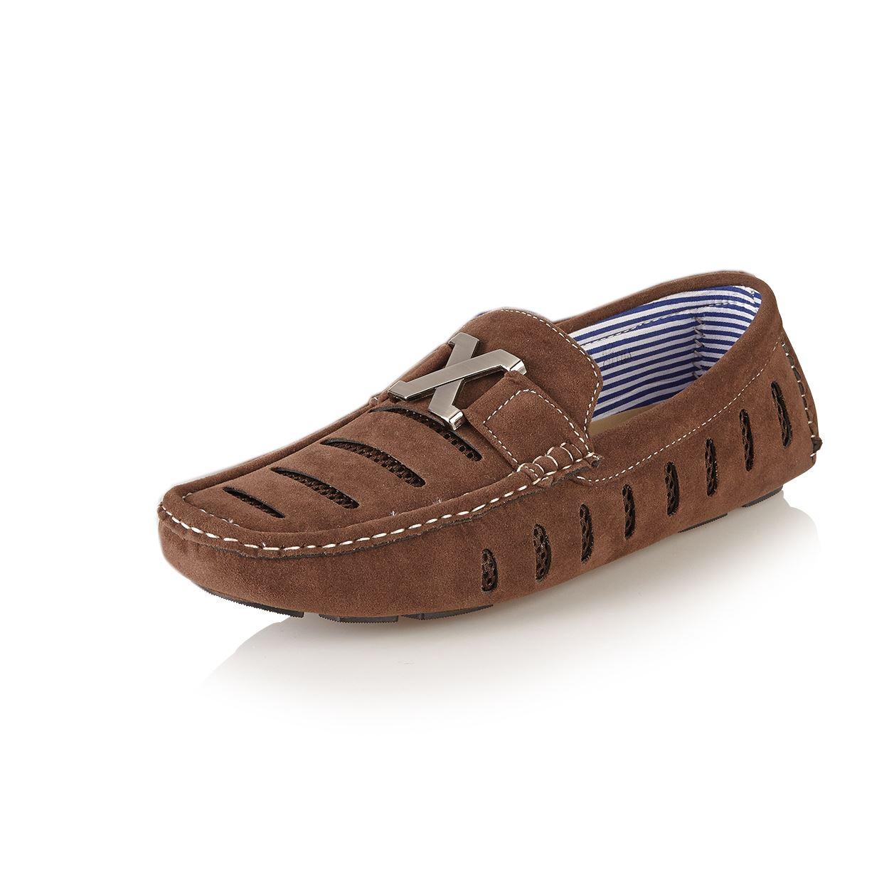 new mens casual designer inspired loafers moccasins slip