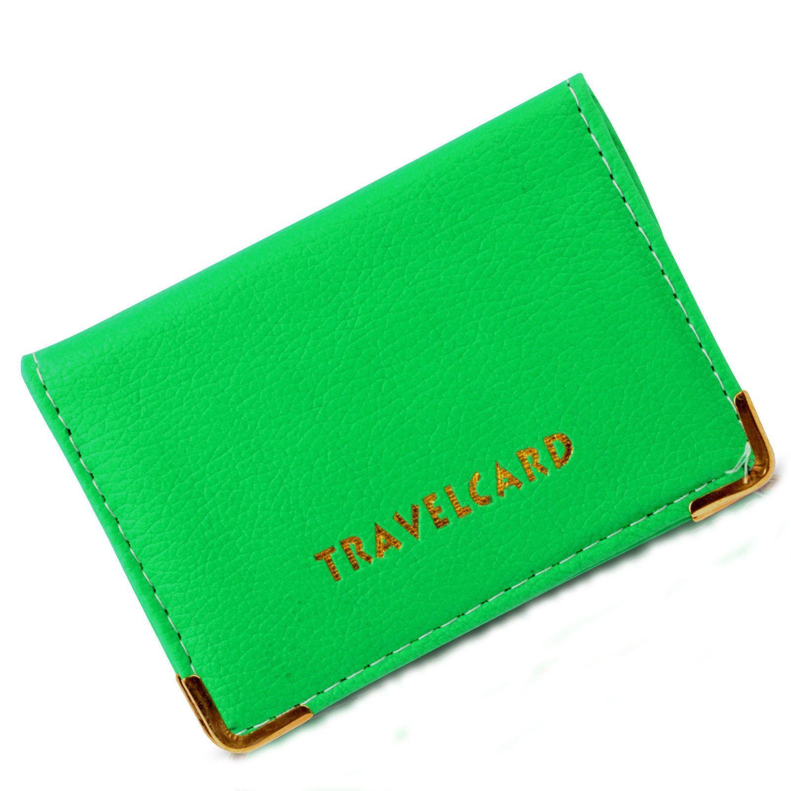 travel card oyster credit card bus pass id card wallet case cover carrier holder ebay. Black Bedroom Furniture Sets. Home Design Ideas