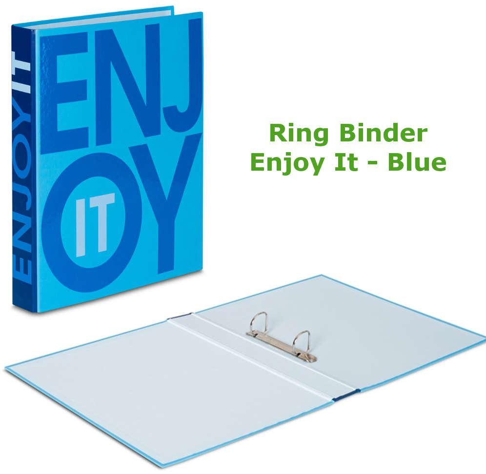 A4 Large 40mm Spine Ring Binder Folders Paper Office