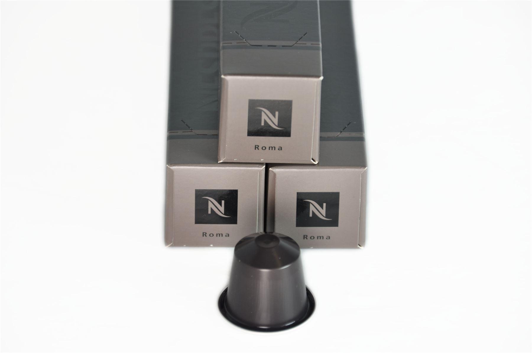 30 pods nespresso capsules intenso range roma intensity 8 - Range capsule nespresso mural ...