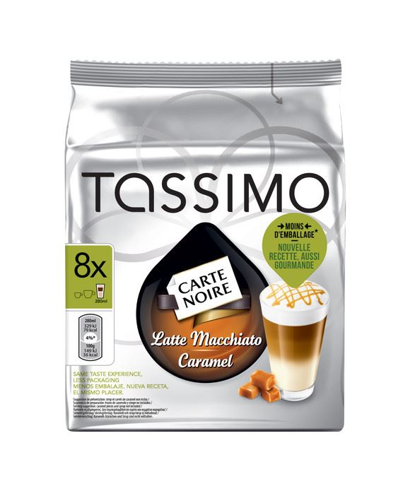 tassimo carte noire caramel latte machiatto pods caps 8 t discs reduced ebay. Black Bedroom Furniture Sets. Home Design Ideas