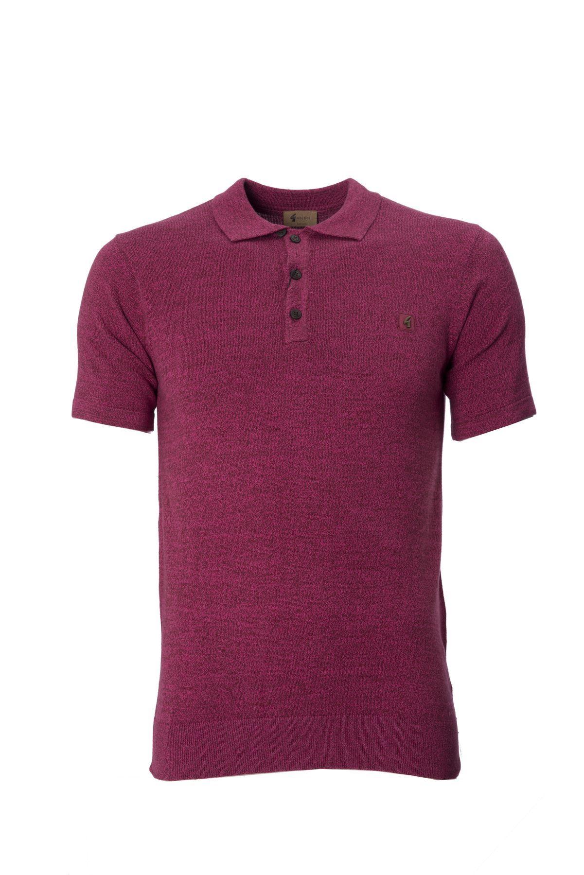 Mens knitted polo shirt collar short sleeve top gabicci ebay for Knitted polo shirt mens