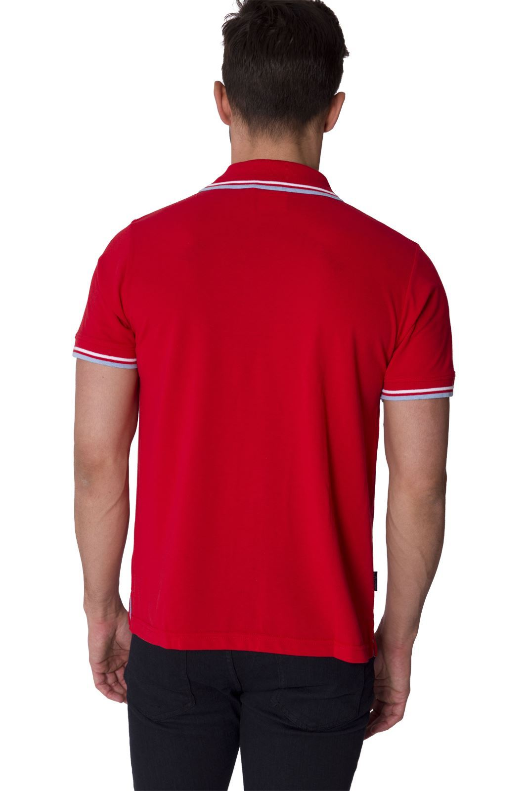 Slazenger designer new mens short sleeve collared polo tee for Mens collared t shirts