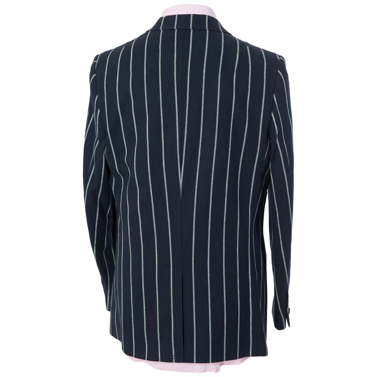 maddox street gabicci mens navy smart blazer striped. Black Bedroom Furniture Sets. Home Design Ideas