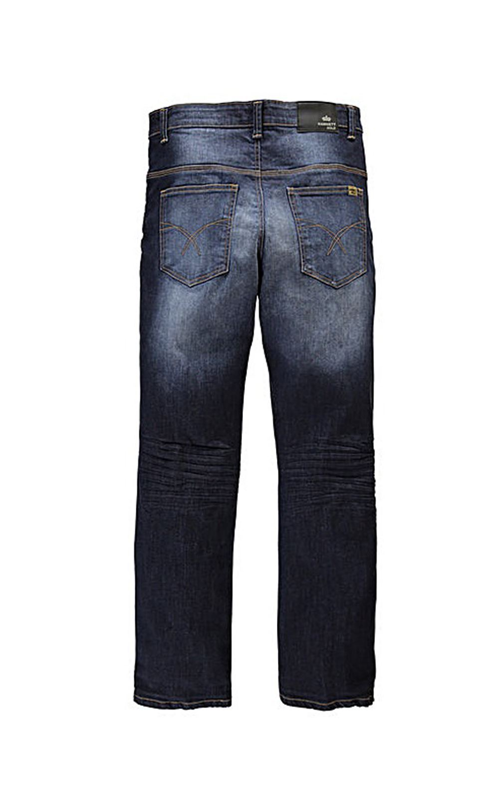 Mens Straight Leg Jeans Plus Size Denim By Hamnett Gold All Waist ...