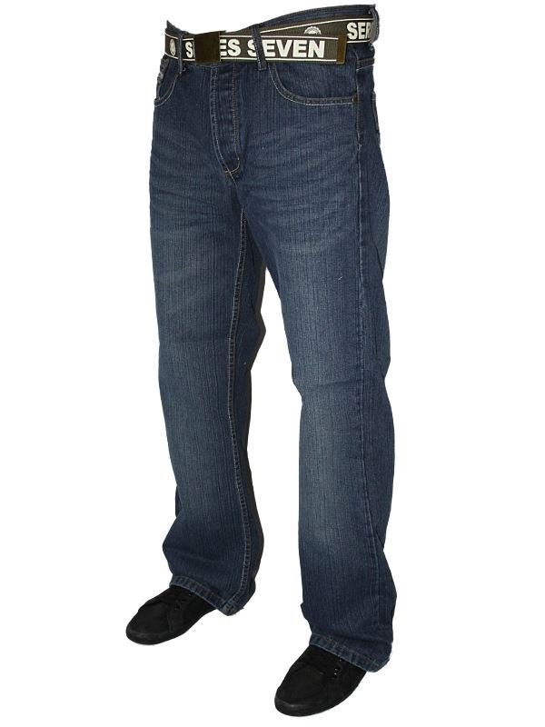 Mens Loyalty Faith Designer Button Fly Bootcut Denim Jeans With Free Belt Ebay