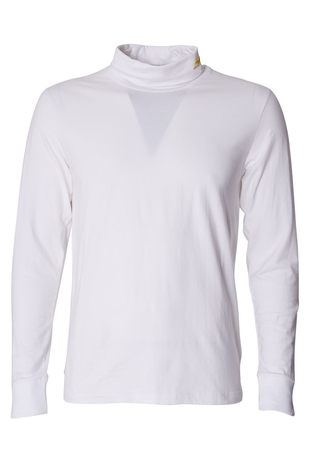 Slazenger Mens High Roll Neck T Shirt Long Sleeves