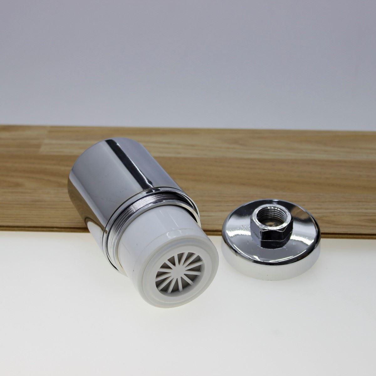 150116 hair skin shower head water filter chlorine remover ebay. Black Bedroom Furniture Sets. Home Design Ideas