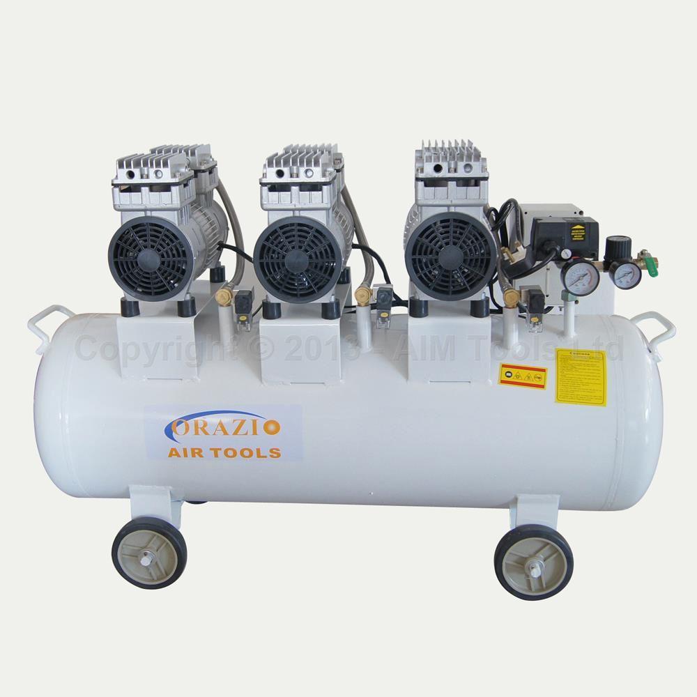 Orazio Silent Type Air Compressor 220v 2400w 90l Low Noise