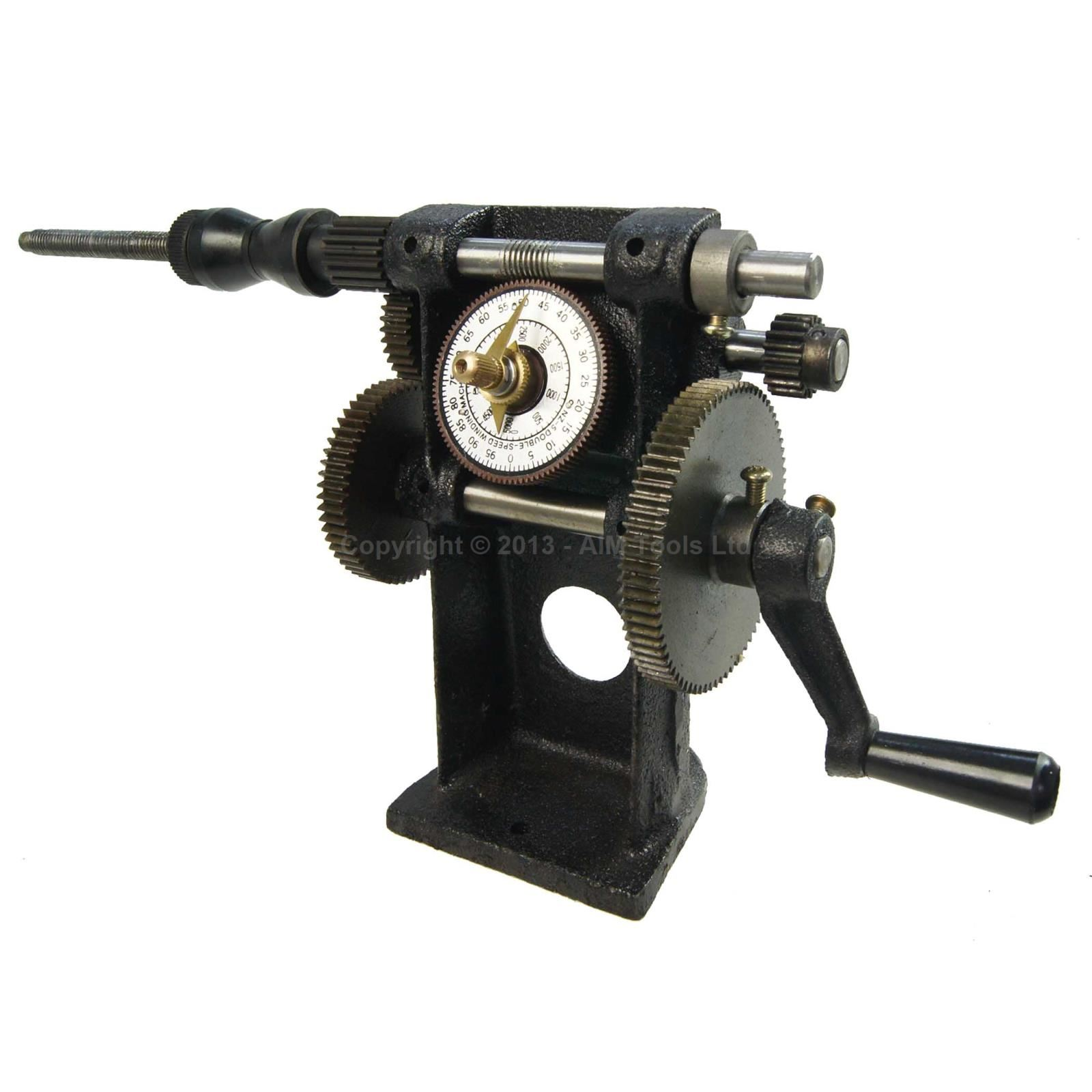 990723a Hand Dual Number Winding Machine Winder Guitar