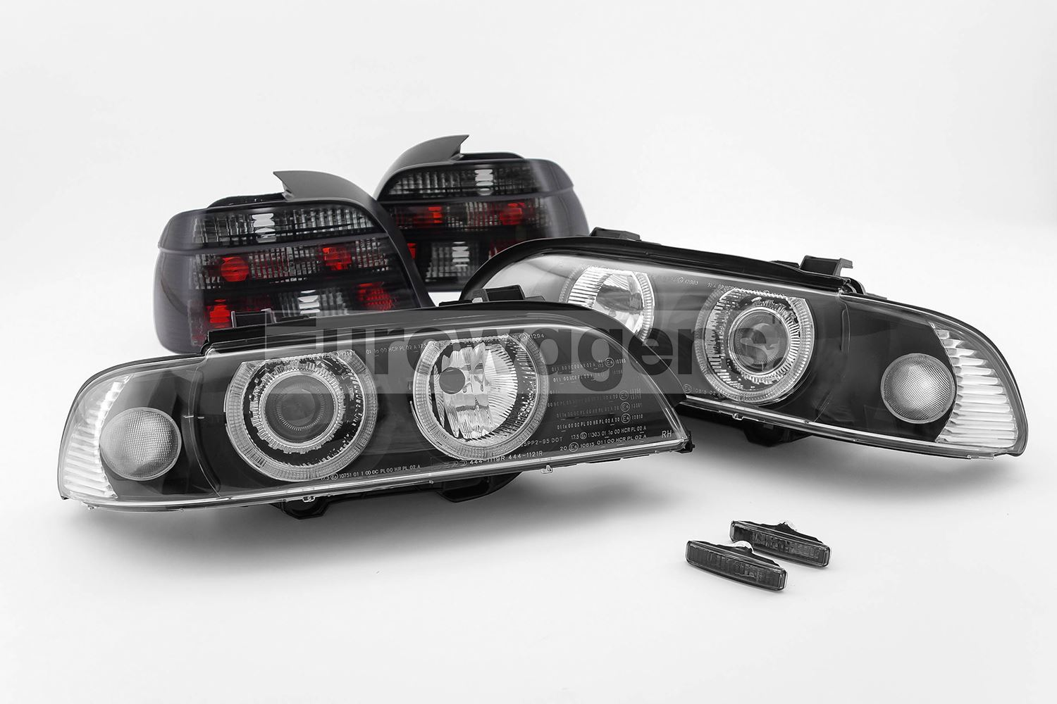 2000 Bmw 528i Headlights 404 Not Found Dorman 540i M5 Ebay 5 Series E39 95 00 Angel Eyes Black Rear Lights Indicators Set