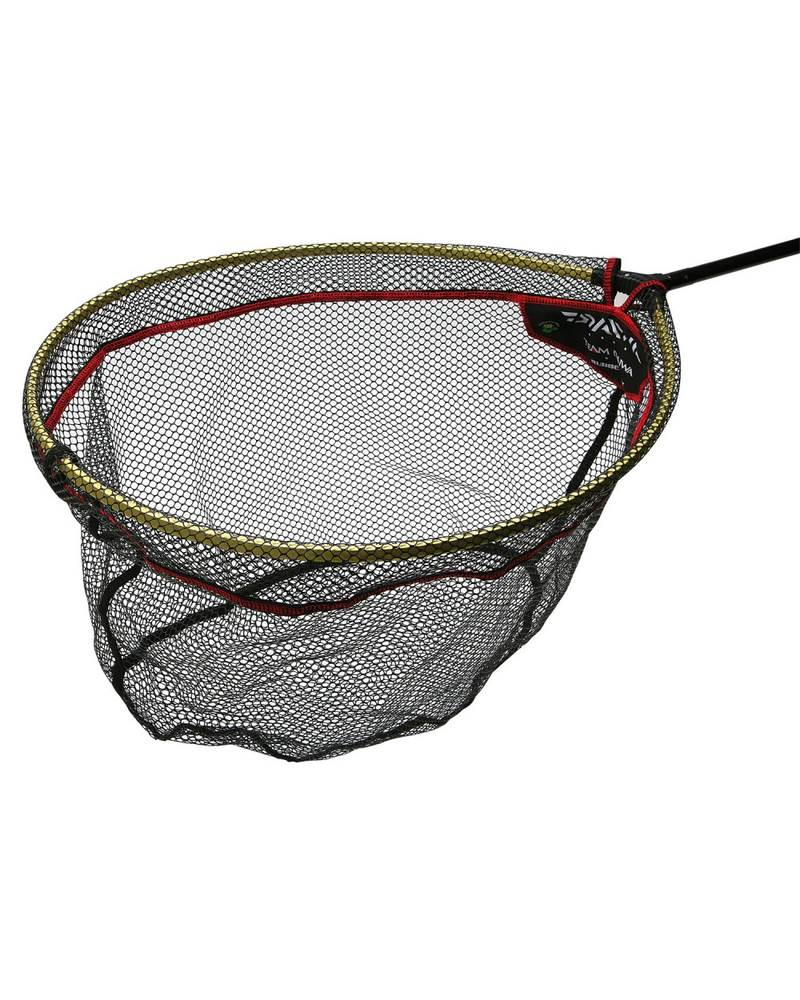 Team daiwa rubber landing net head spoon all sizes new for Rubber fishing nets