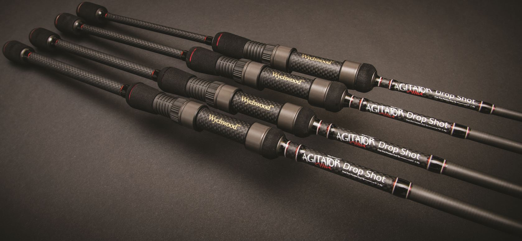 Wychwood agitator drop shot rods pike predator fishing for Shooting fishing rod