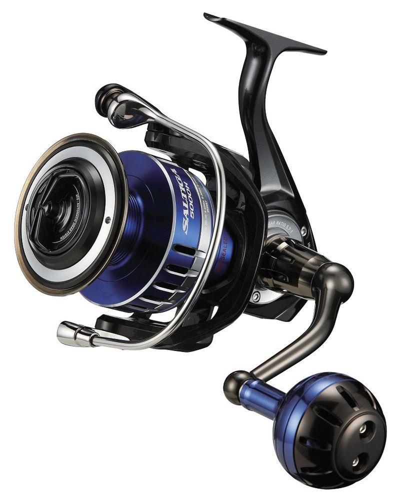 Daiwa 15 saltiga saltwater mag sealed spinning fishing for Daiwa fishing reels