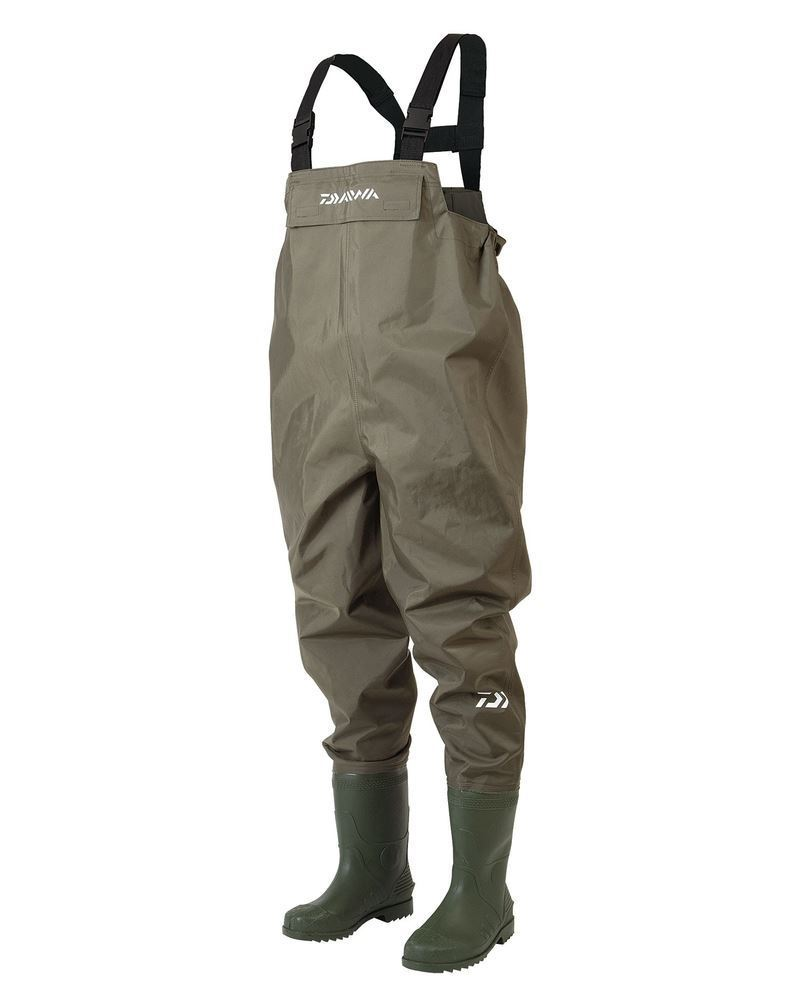 Daiwa endura lightweight pvc chest waders carp fishing for Chest waders for fishing