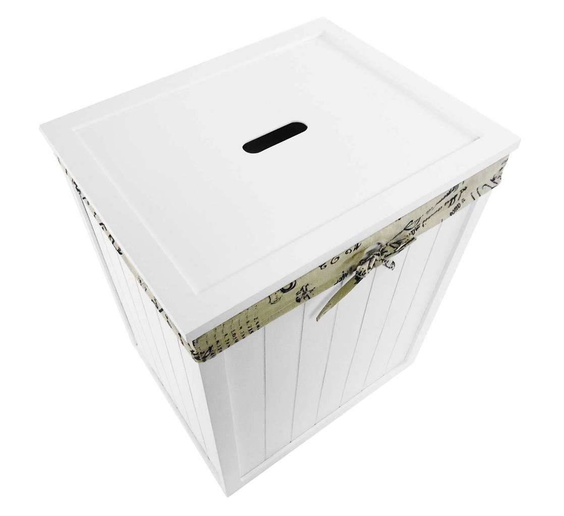 White Bathroom Laundry Storage wooden brown white kids playroom toy box chest bathroom laundry