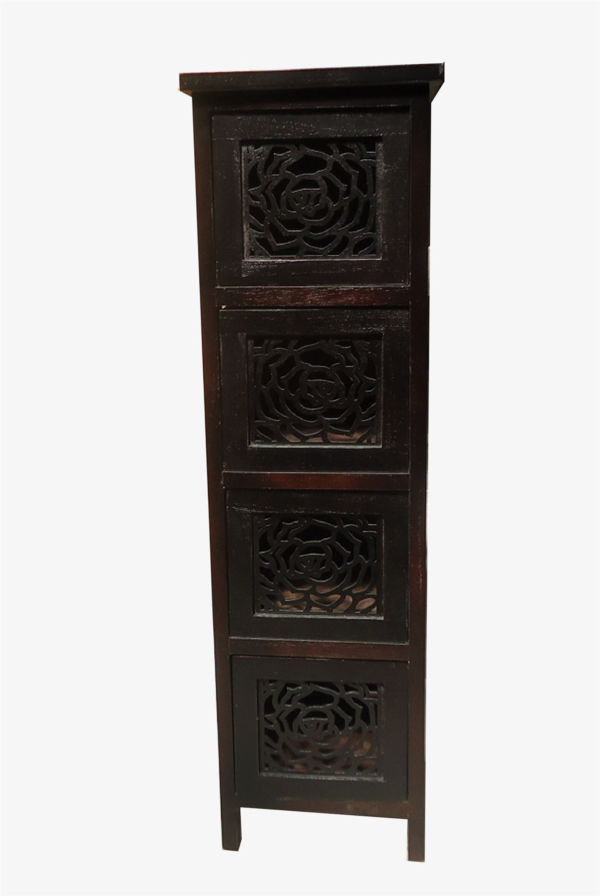 Slim Bedside Tables: Assembled Slim Narrow Wide Bedside Table Hallway Chest Of