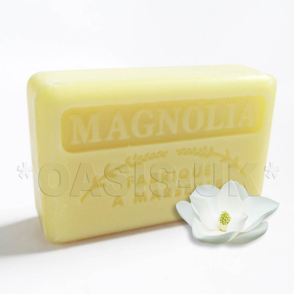 Savon de Marseille Natural French Soap with Organic Shea Butter *Genuine* FLORAL