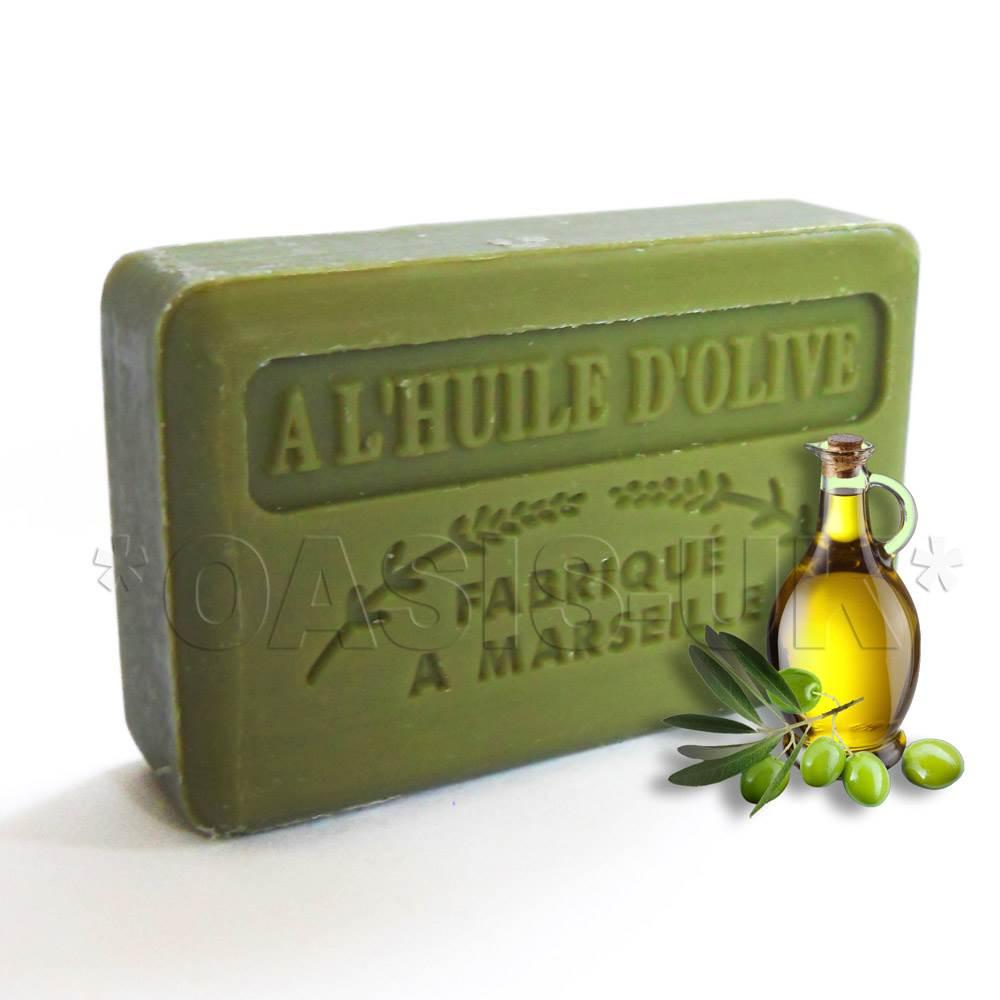 125g Savon de Marseille Natural Soap with Organic Shea Butter No Paraben or SLS