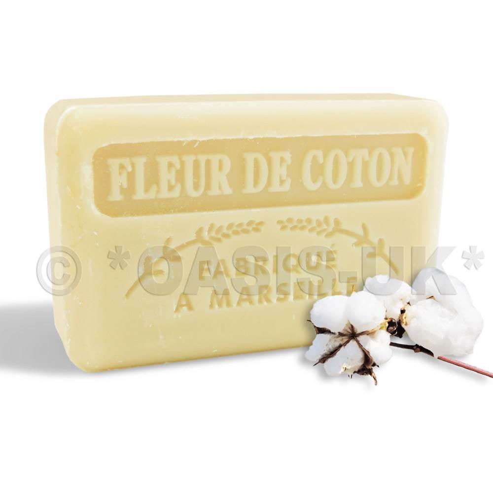125g savon de MARSEILLE natural SOAP wtih organic shea butter, FLORAL SCENTS