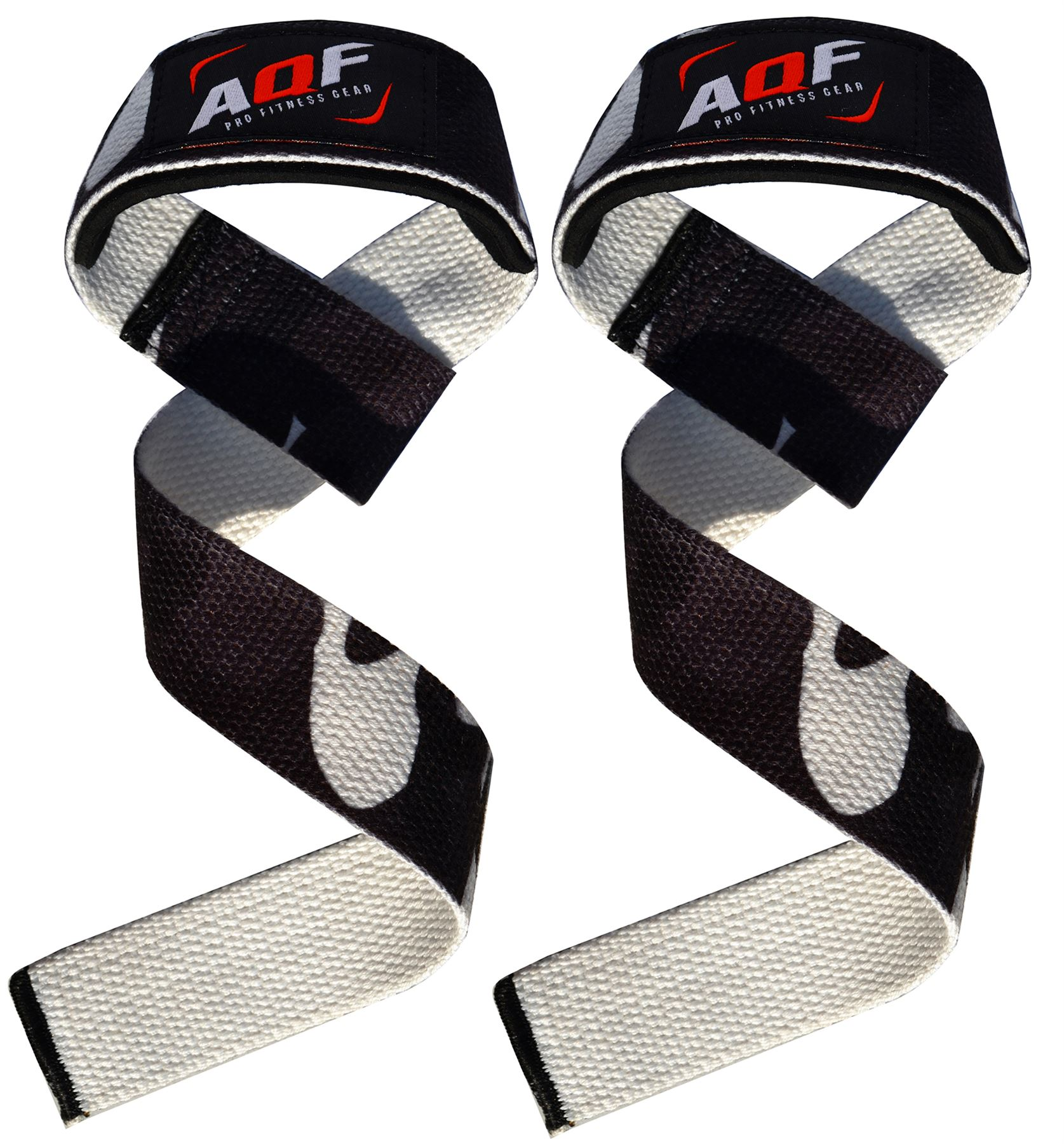 Weight Lifting Wrist Wraps Bandage Support Gloves Gym: AQF Padded Weight Lifting Straps Training Gym Hand Bar