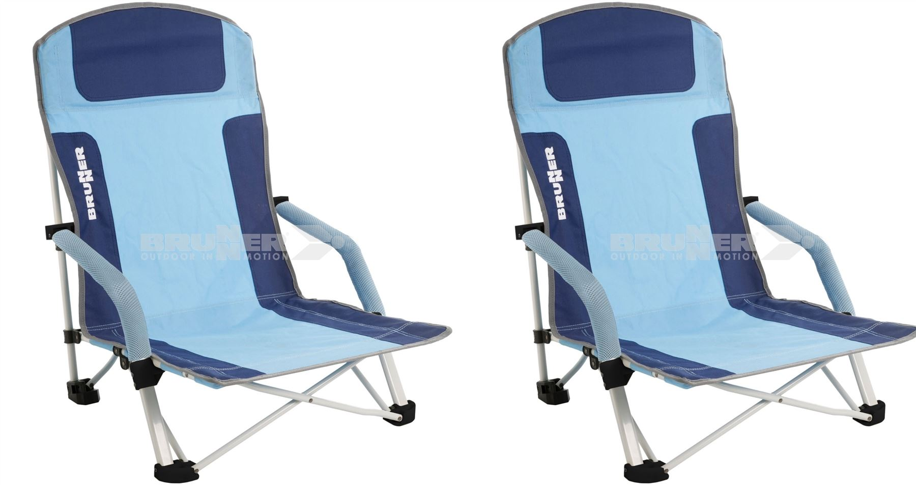Brunner Bula Low Camping Beach Folding Chair x 2