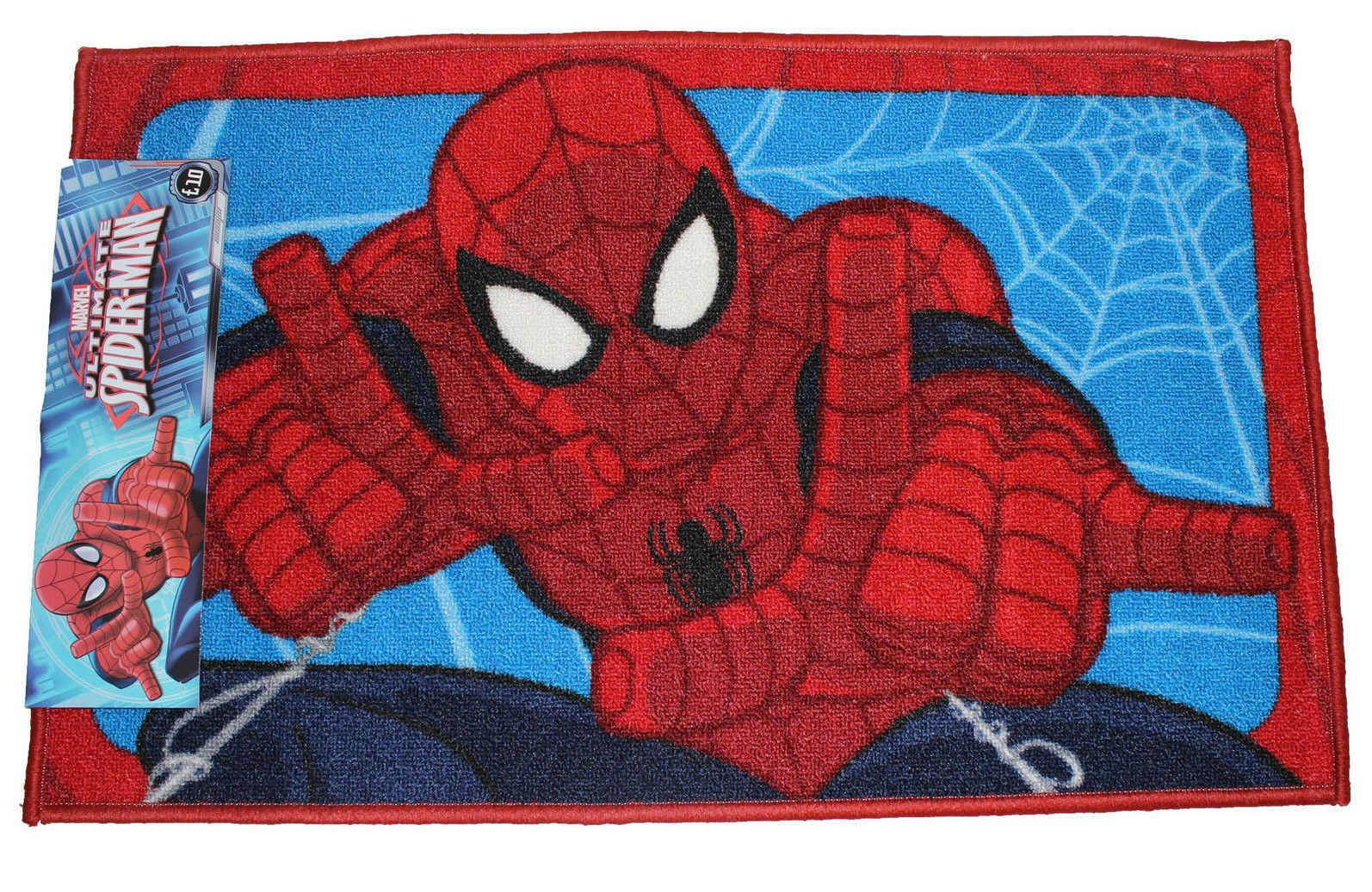 details about marvel spiderman rugs four designs