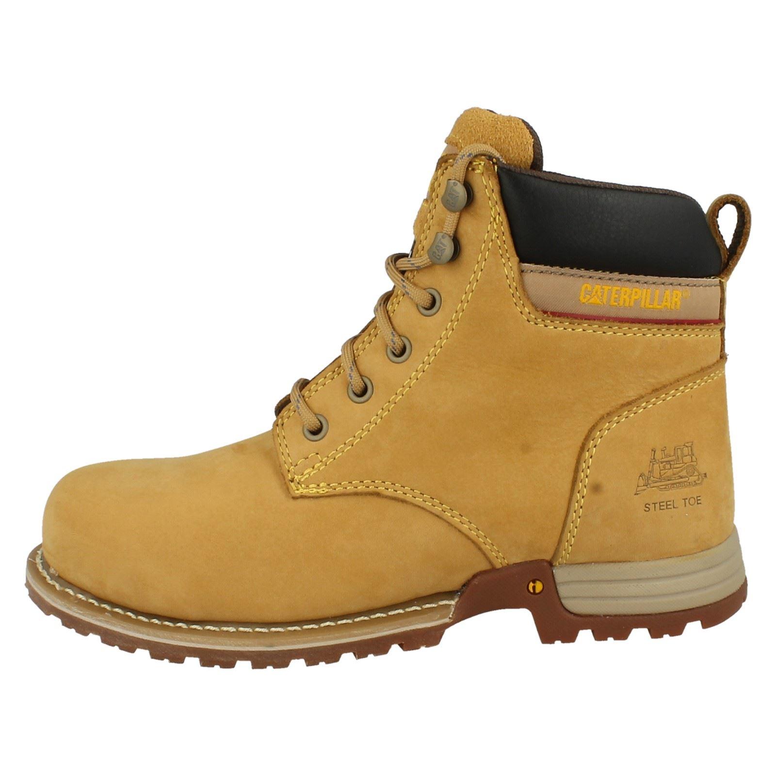 Popular Womens Caterpillar Anna Kick Brown Leather Fur Trim Ankle Biker Boots Size 3-8 | EBay
