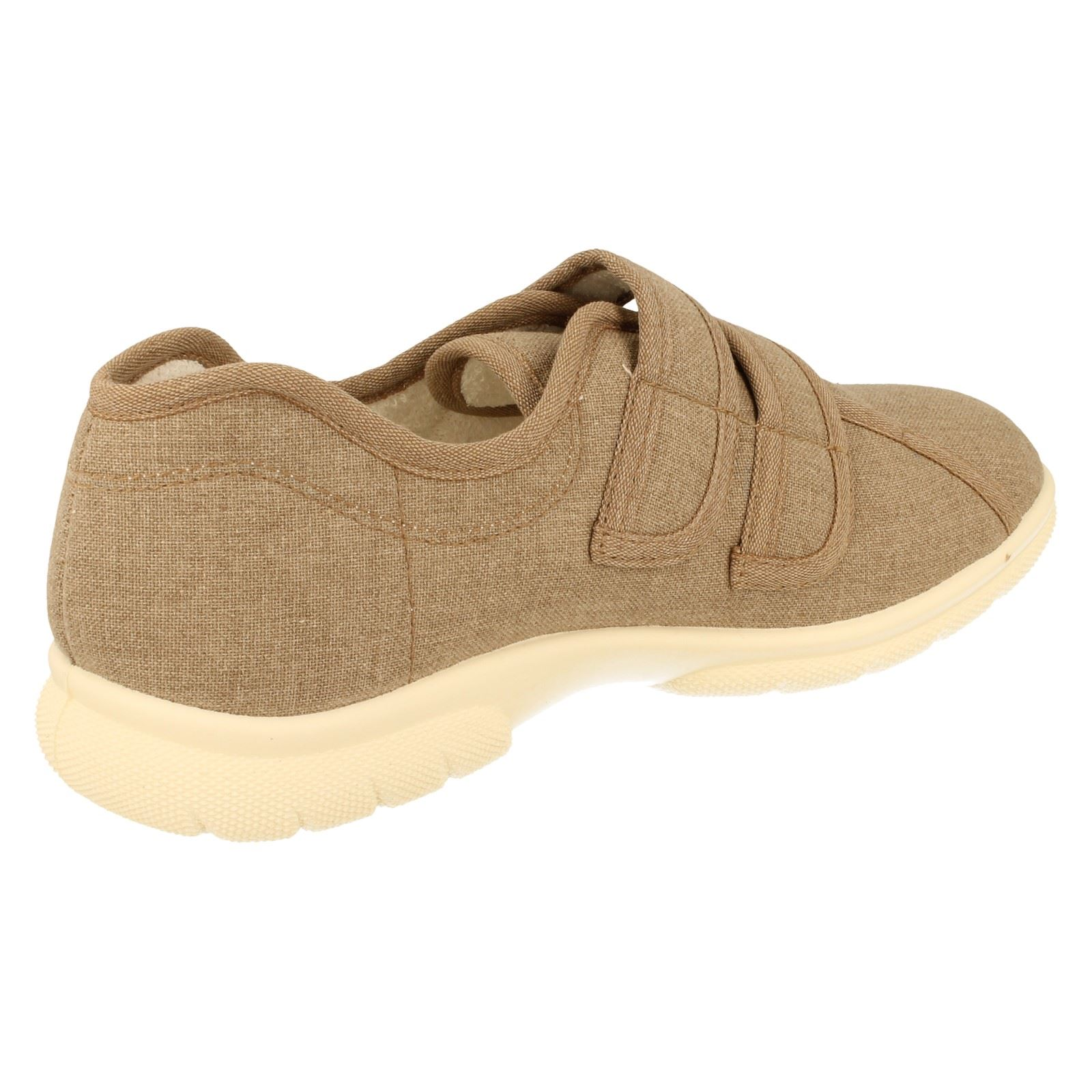 Extra Wide Fitting Mens Canvas Shoes