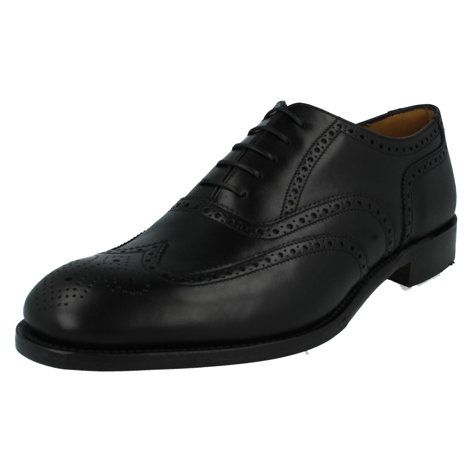 mens loake formal brogue shoes fitting g style severn2