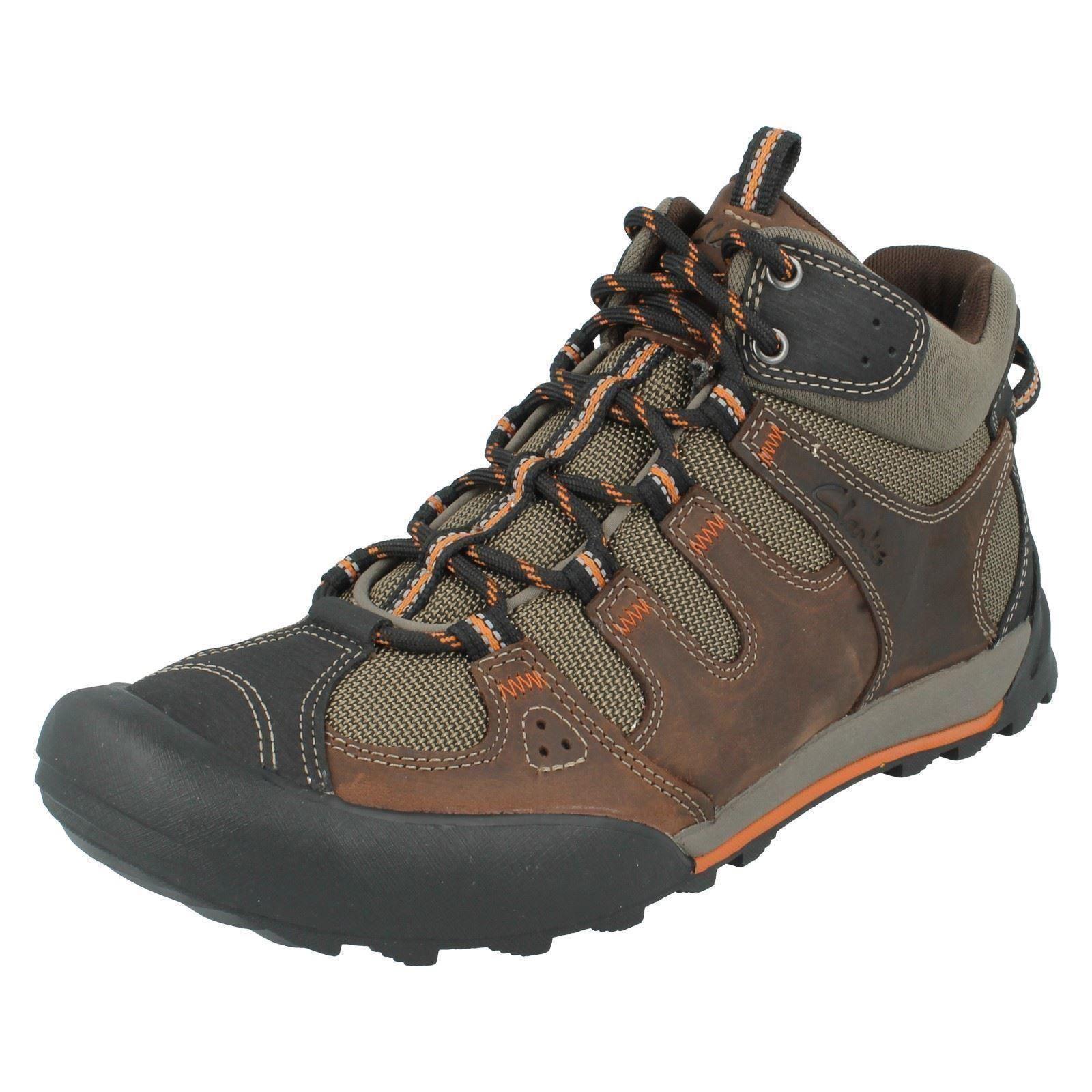 Regatta Men/'s Burrell Leather Vibram Walking Boots Brown