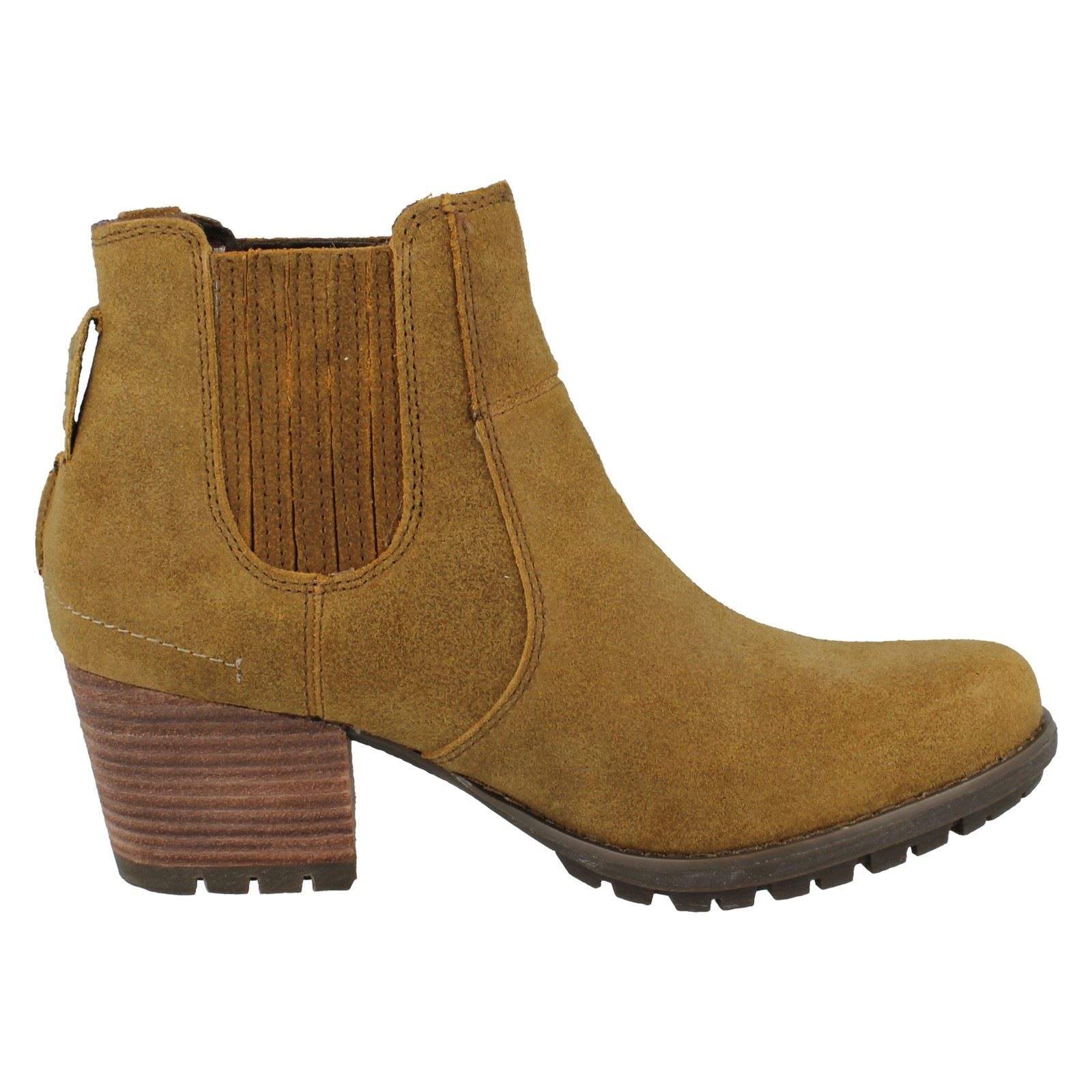 New Caterpillar Cat Willow Womens Leather Boots Ladies Size UK 38  EBay