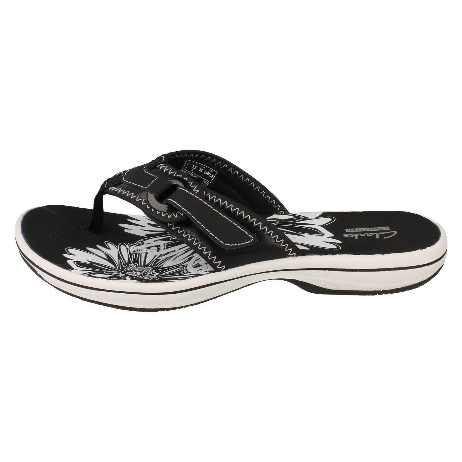 0fd607f990a Ladies Clarks Flip Flops Label - Brinkley Mila
