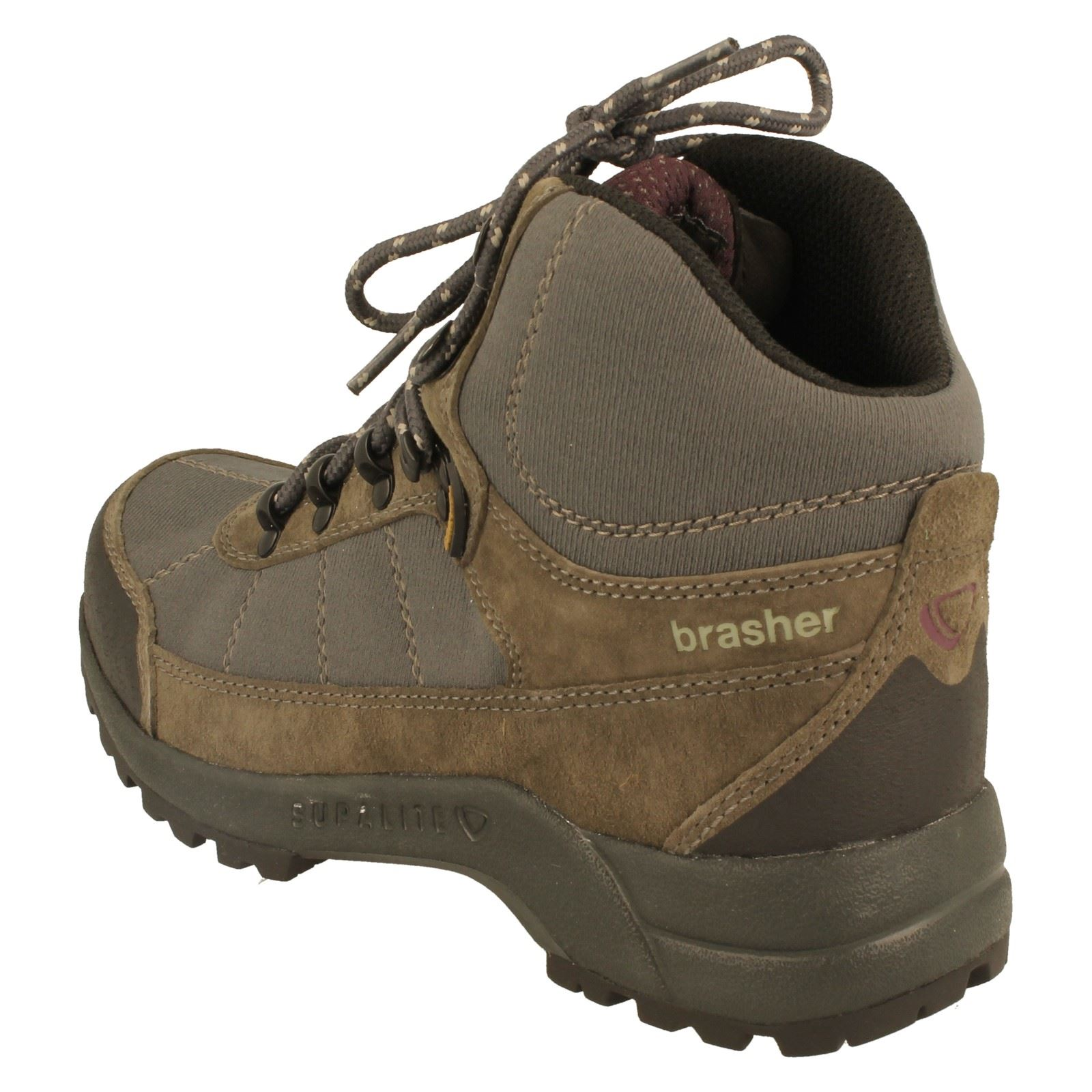 Amazing BRASHER WOMENS HILLMASTER LEATHER GORETEX WALKING BOOTS BROWN UK 4 8