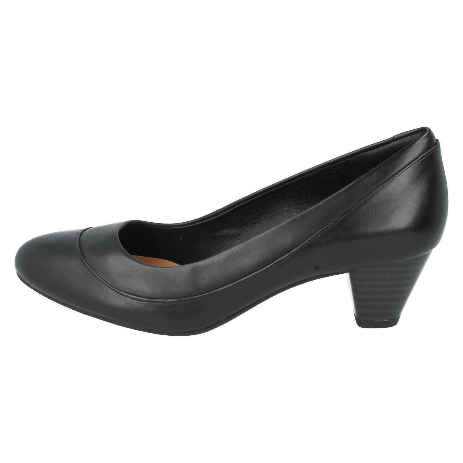 Denny Harbour Black Ladies Shoes