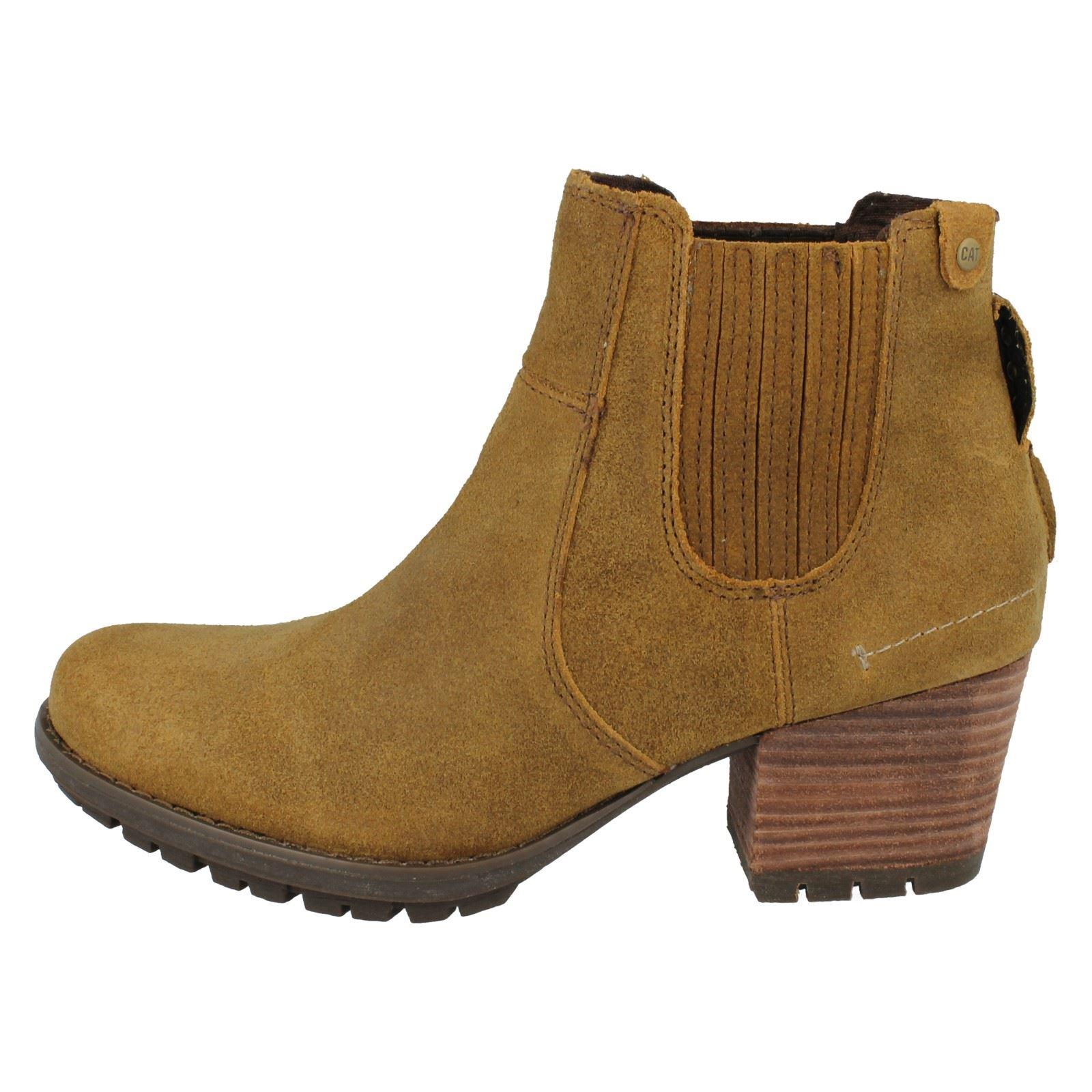 womens caterpillar boots allison ebay