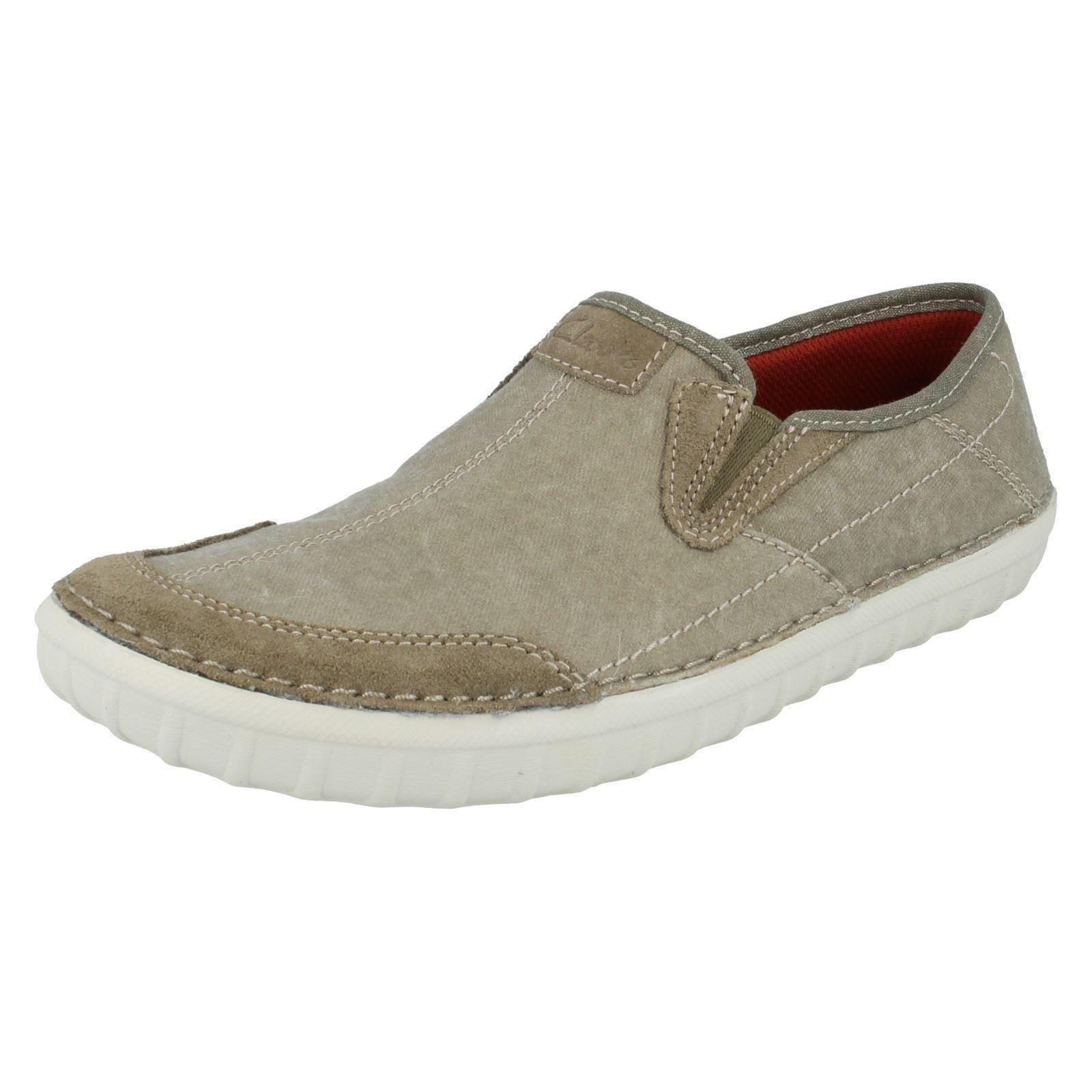 s clarks casual slip on casual shoes kornel ride ebay