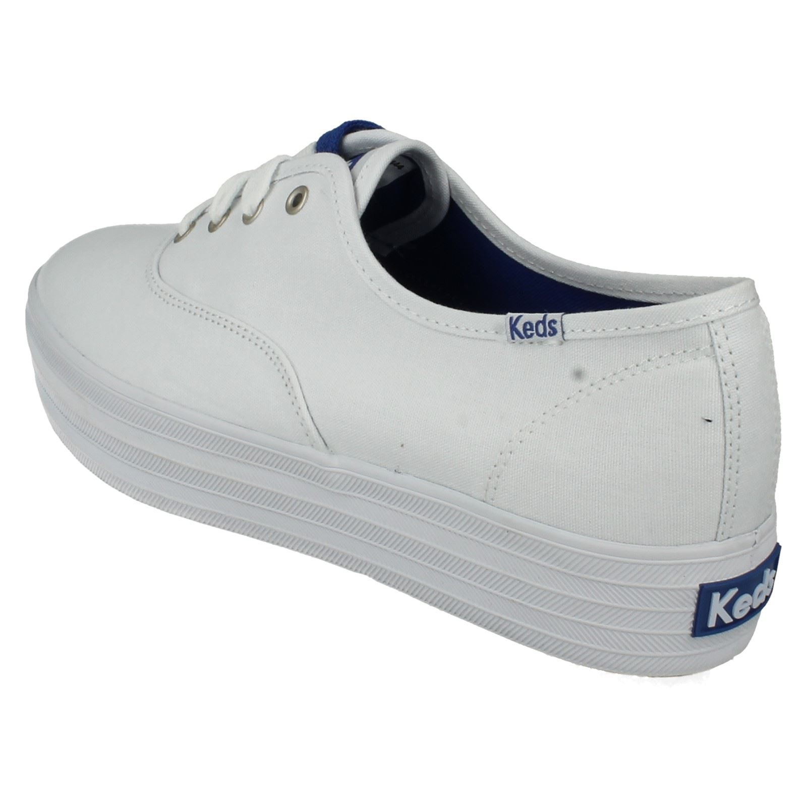 keds canvas shoes white ebay
