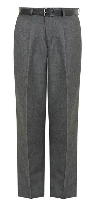 Escuela-Primaria-Junior-Ninos-Pantalones-con-espalda-con-elastico-y-cinturon-de-4-a-12-anos