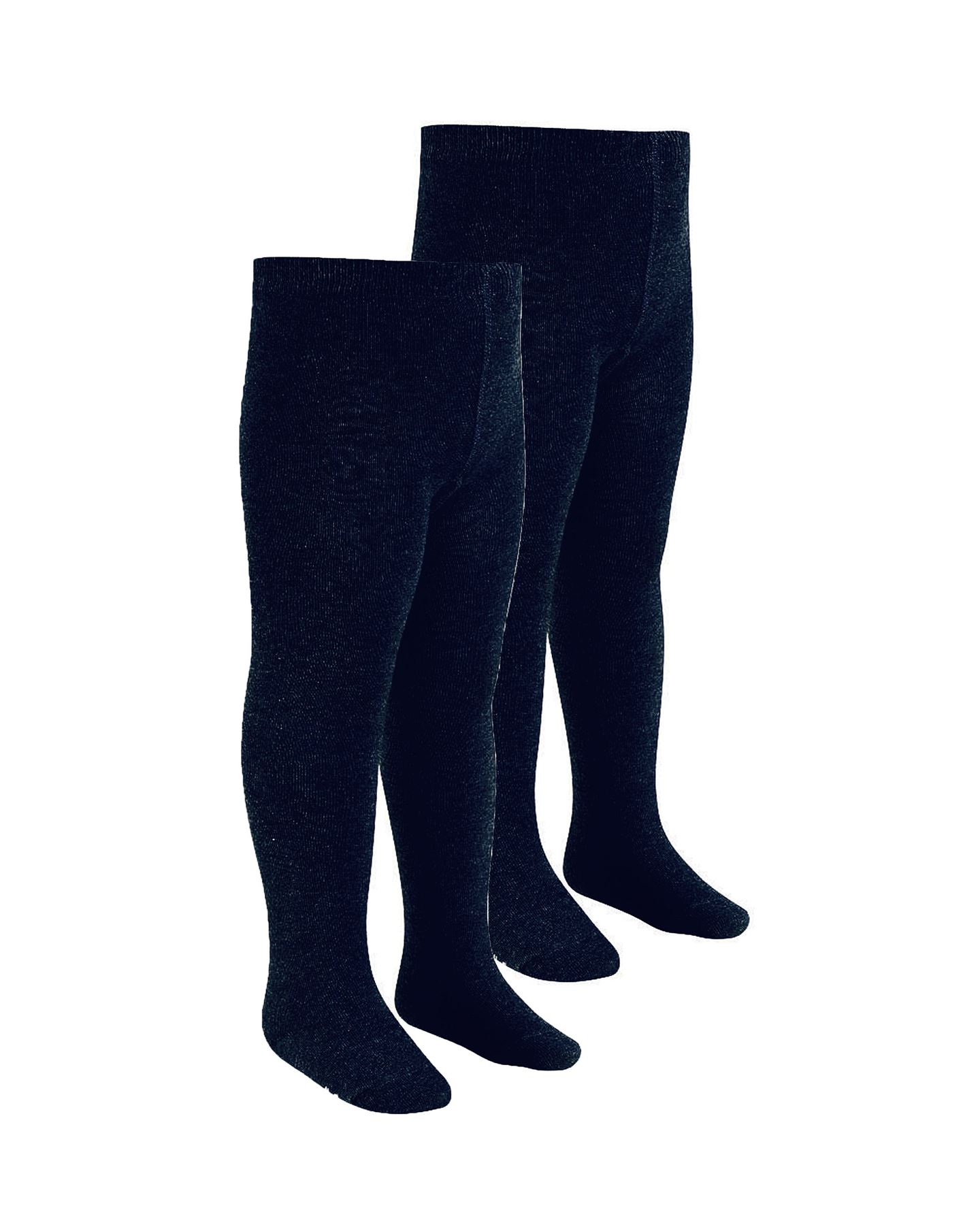 NEW-GIRLS-SCHOOL-UNIFROM-BLACK-GREY-NAVY-NIFTY-TIGHTS-TWIN-PACK-AGES-2-13-YEARS
