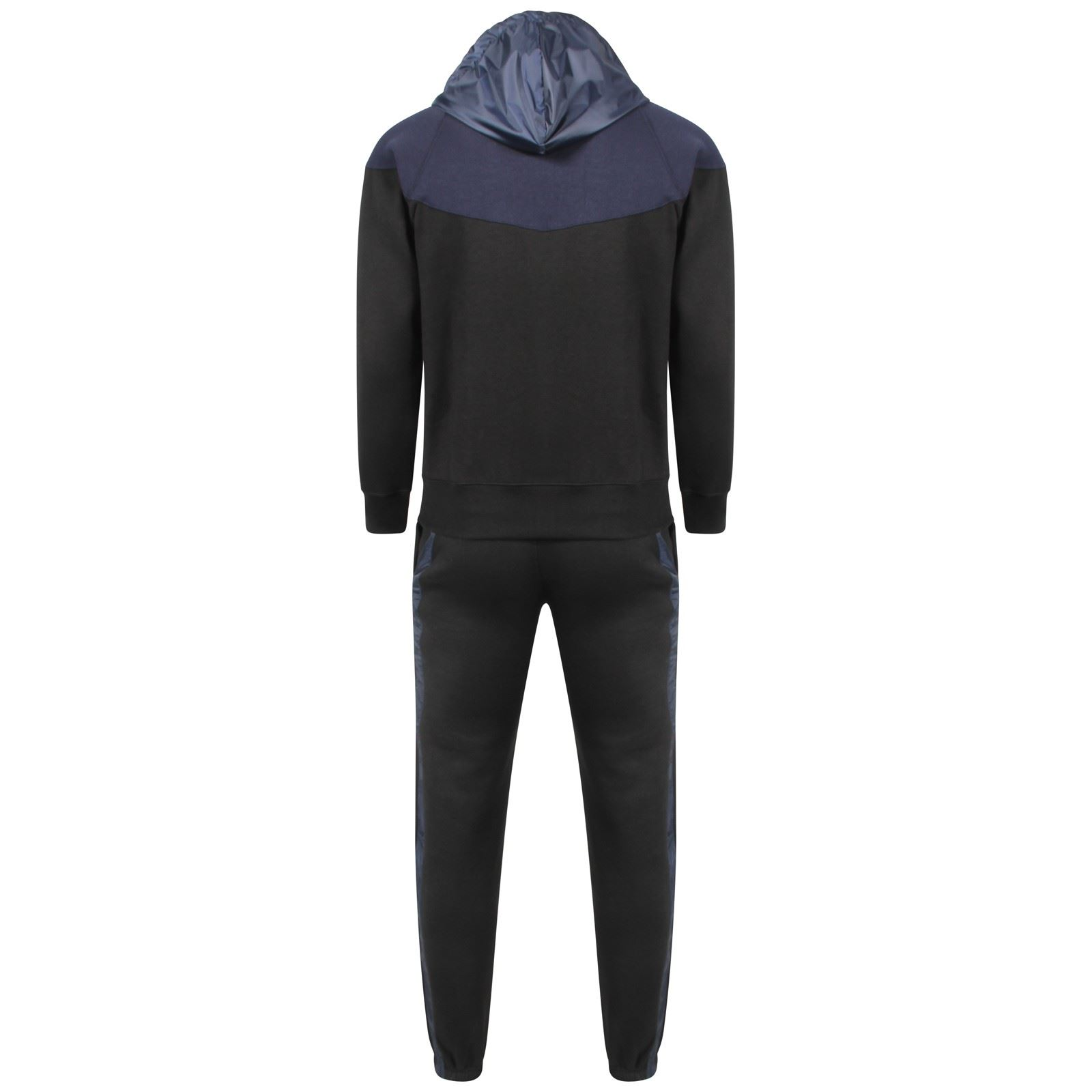 Kids Contrast DELUXE NY Edition Tracksuit Sweat Top Jog Track Pants Set 7-13 Yrs