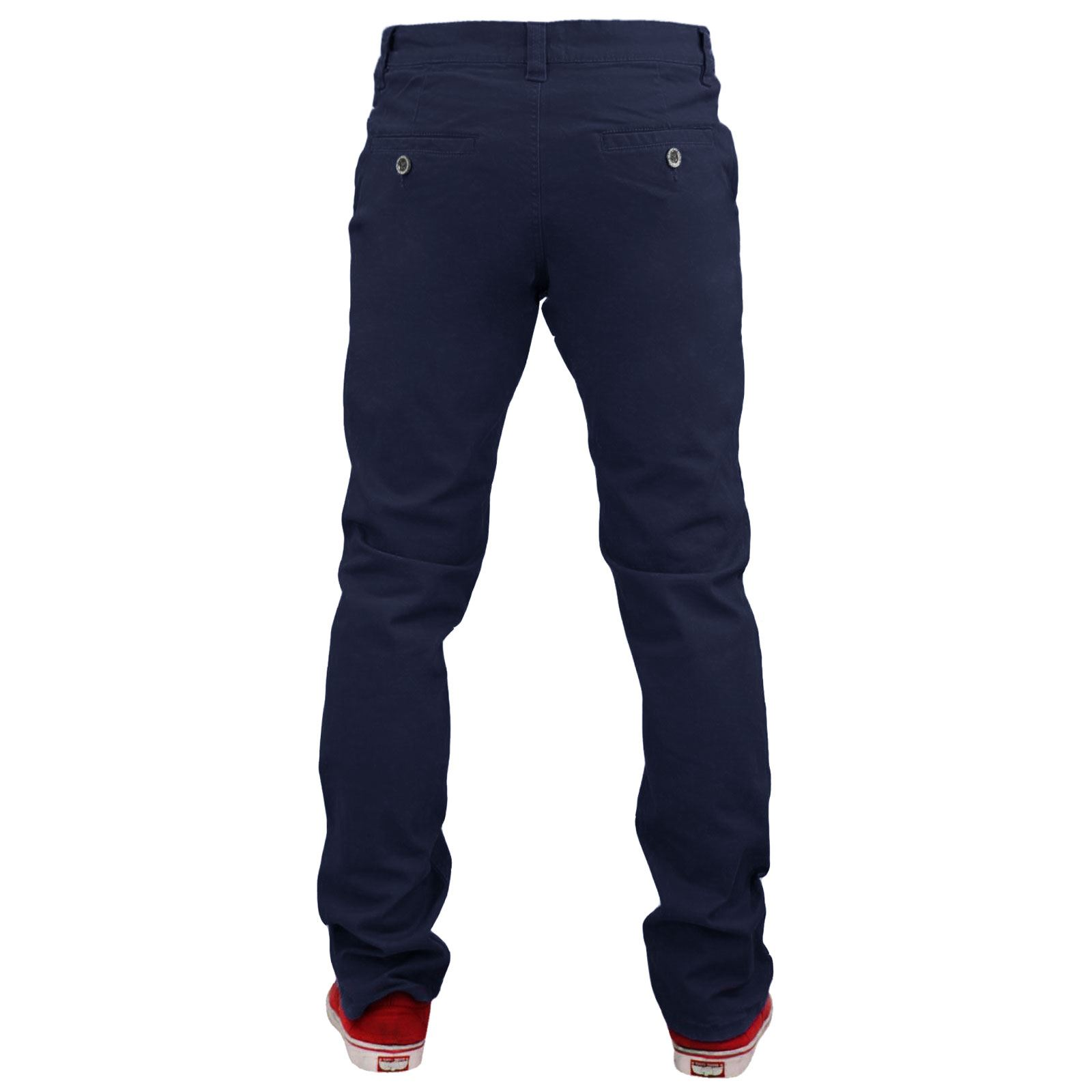 Mens Skinny Jeans Jacksouth Fit Denim Cotton Twill Stretch Chinos Pants Trousers