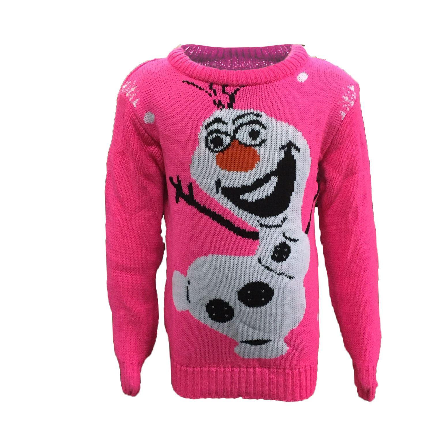 childrens kids boys girls 3d frozen olaf reindeer. Black Bedroom Furniture Sets. Home Design Ideas