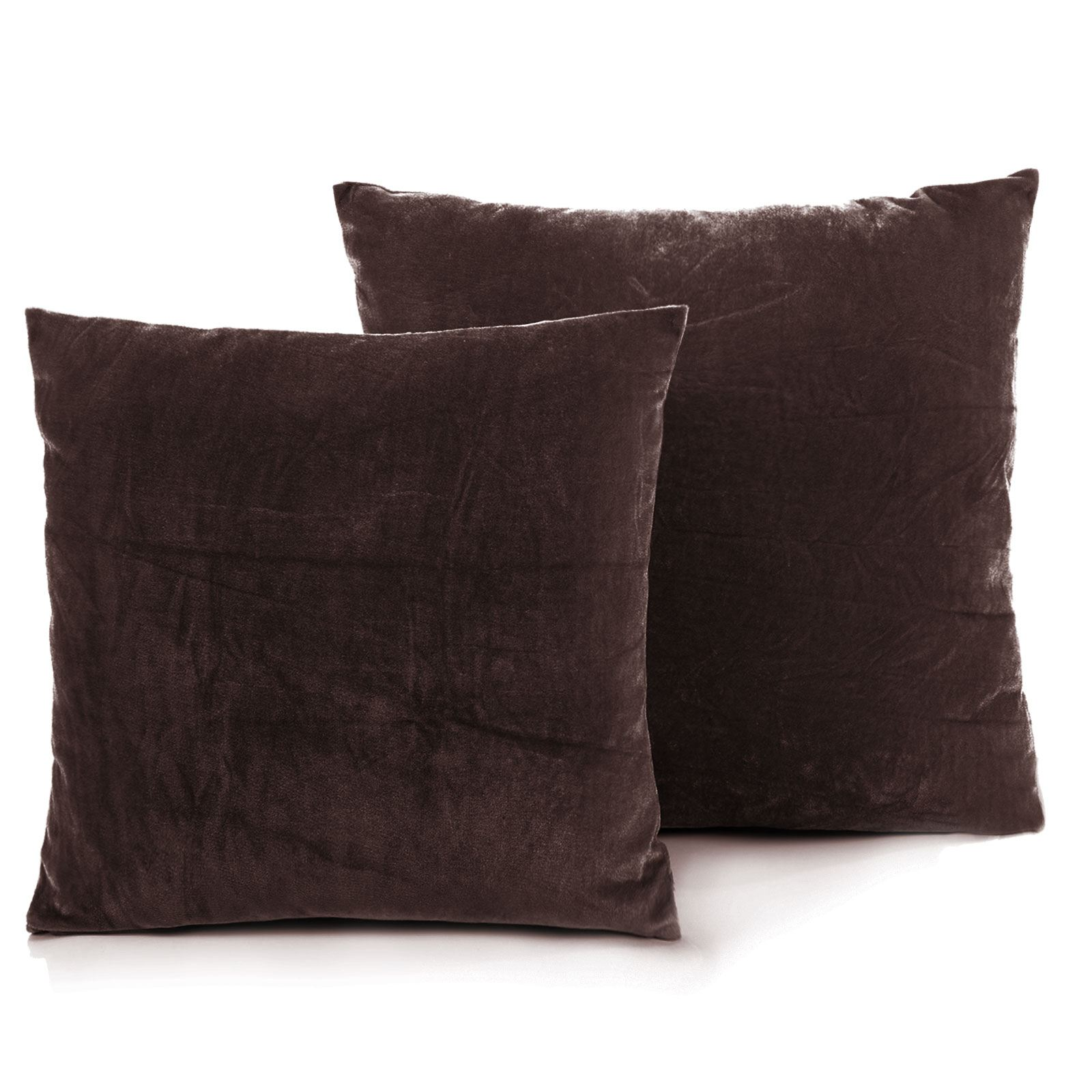 luxury faux fur cushion covers pads sofa pillow cases bed decoration 45 x 45 cm. Black Bedroom Furniture Sets. Home Design Ideas